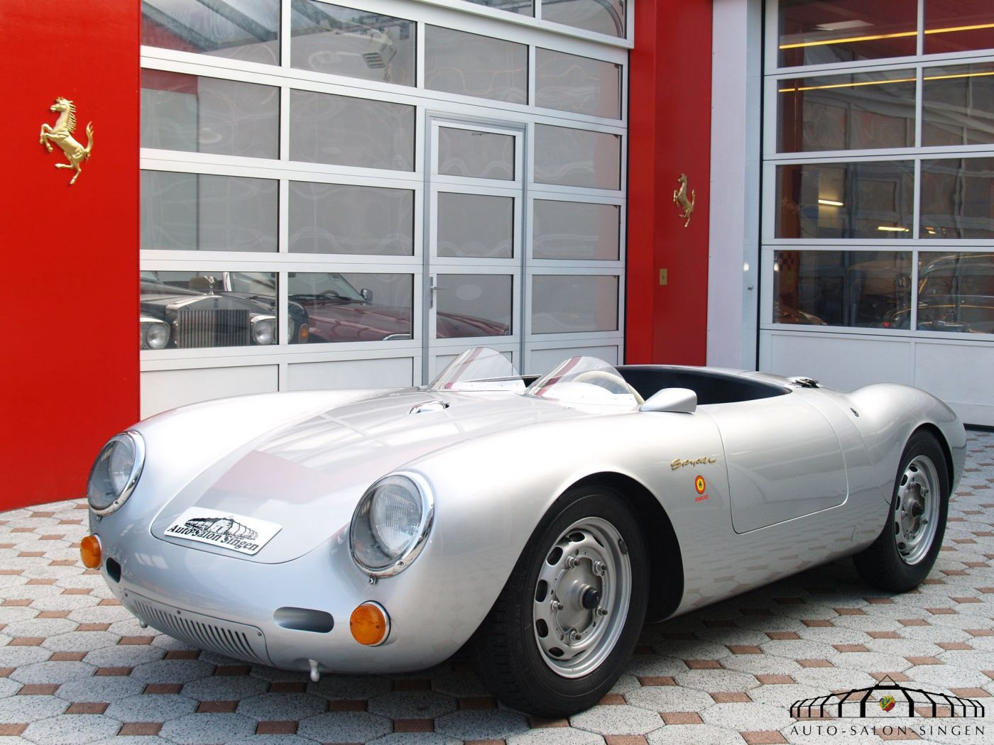 porsche 550 spyder cabrio auto salon singen. Black Bedroom Furniture Sets. Home Design Ideas