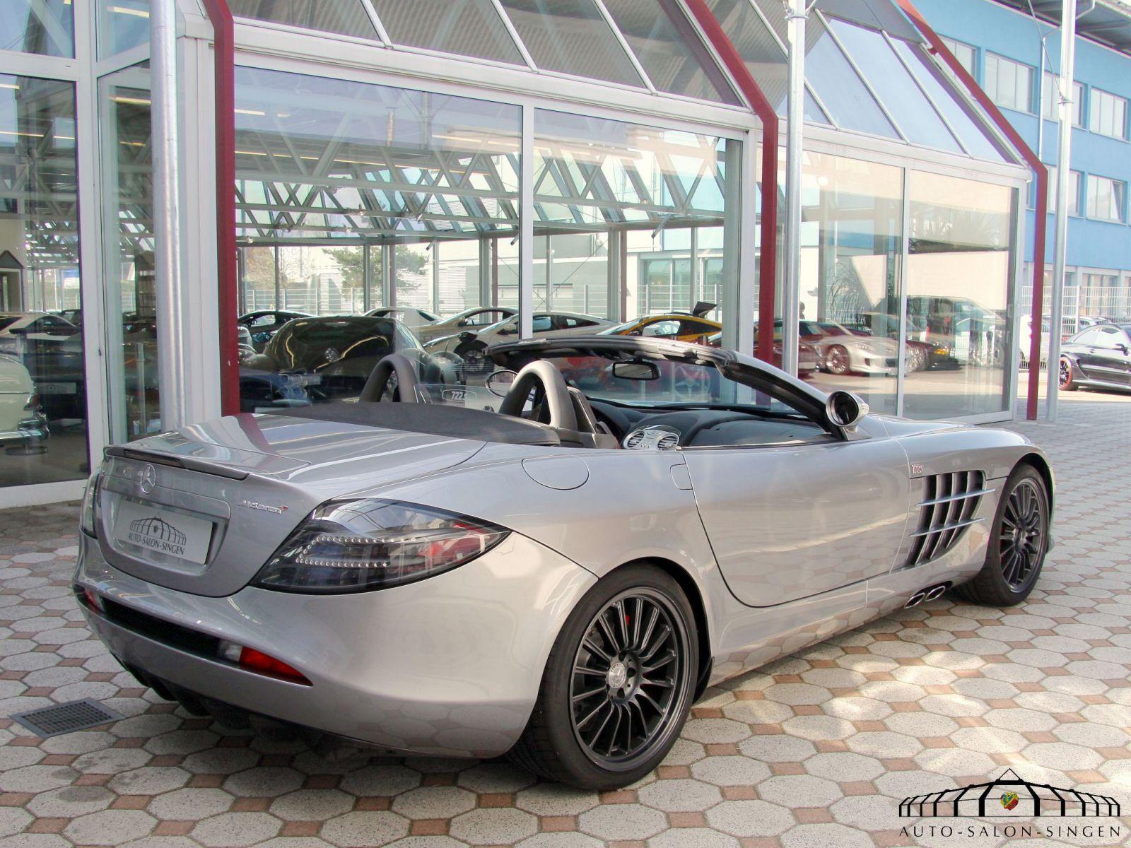 Mercedes benz slr mclaren roadster 722 s roadster auto for Mercedes benz slr mclaren