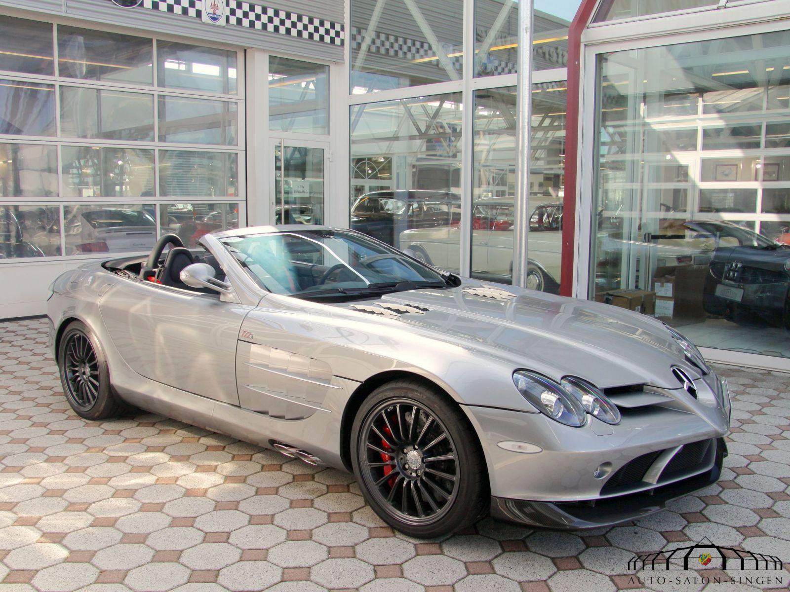 Mercedes benz slr mclaren roadster 722 s roadster auto for Mercedes benz slr