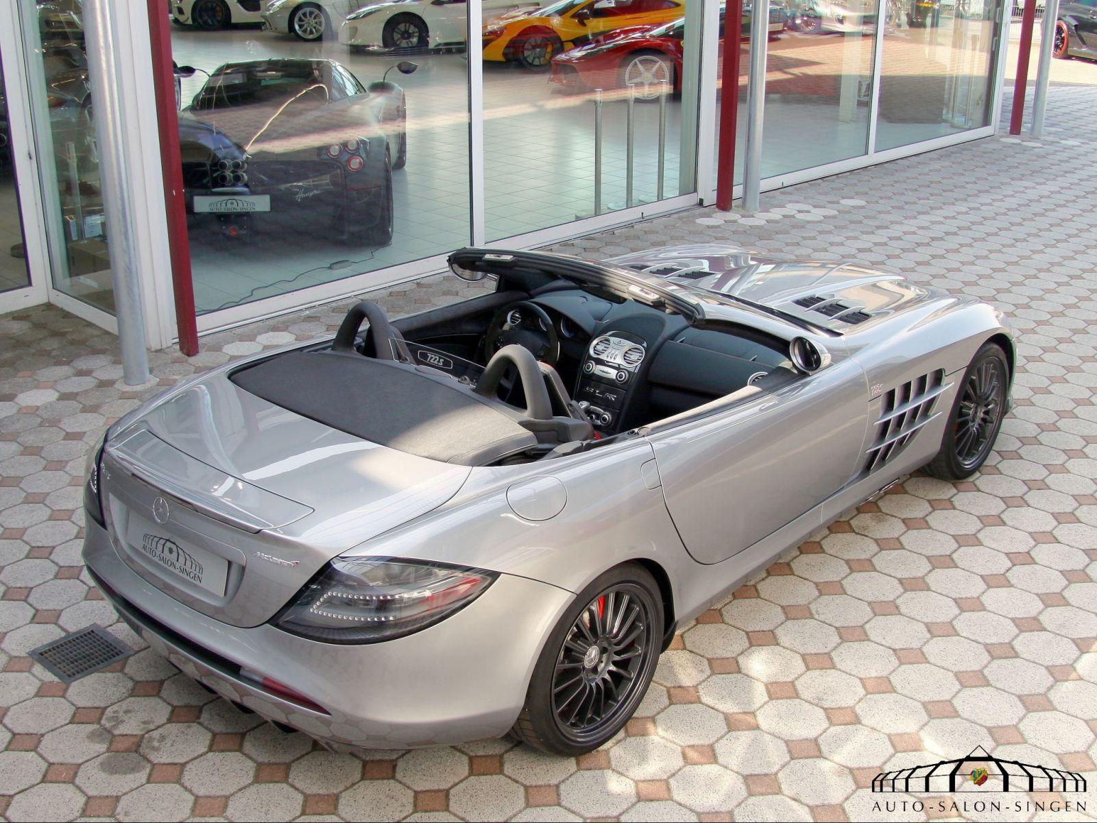 mercedes benz slr mclaren roadster 722 s roadster auto. Black Bedroom Furniture Sets. Home Design Ideas