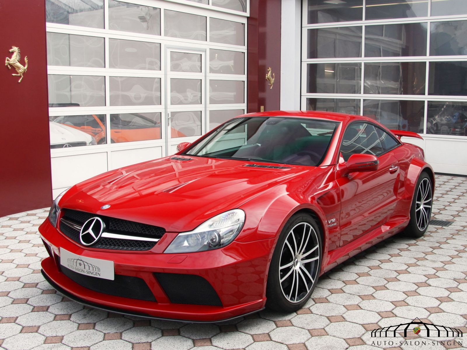 Mercedes benz sl 65 amg black series coup auto salon singen for Mercedes benz sl500 amg