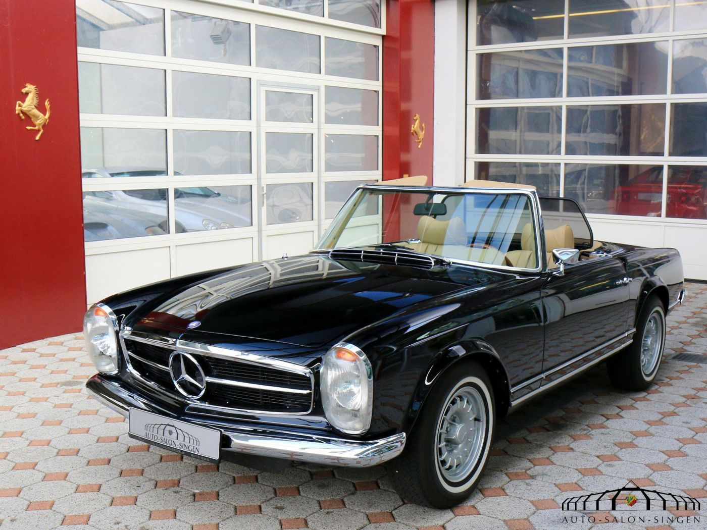 mercedes benz 280 sl pagode convertible auto salon singen. Black Bedroom Furniture Sets. Home Design Ideas