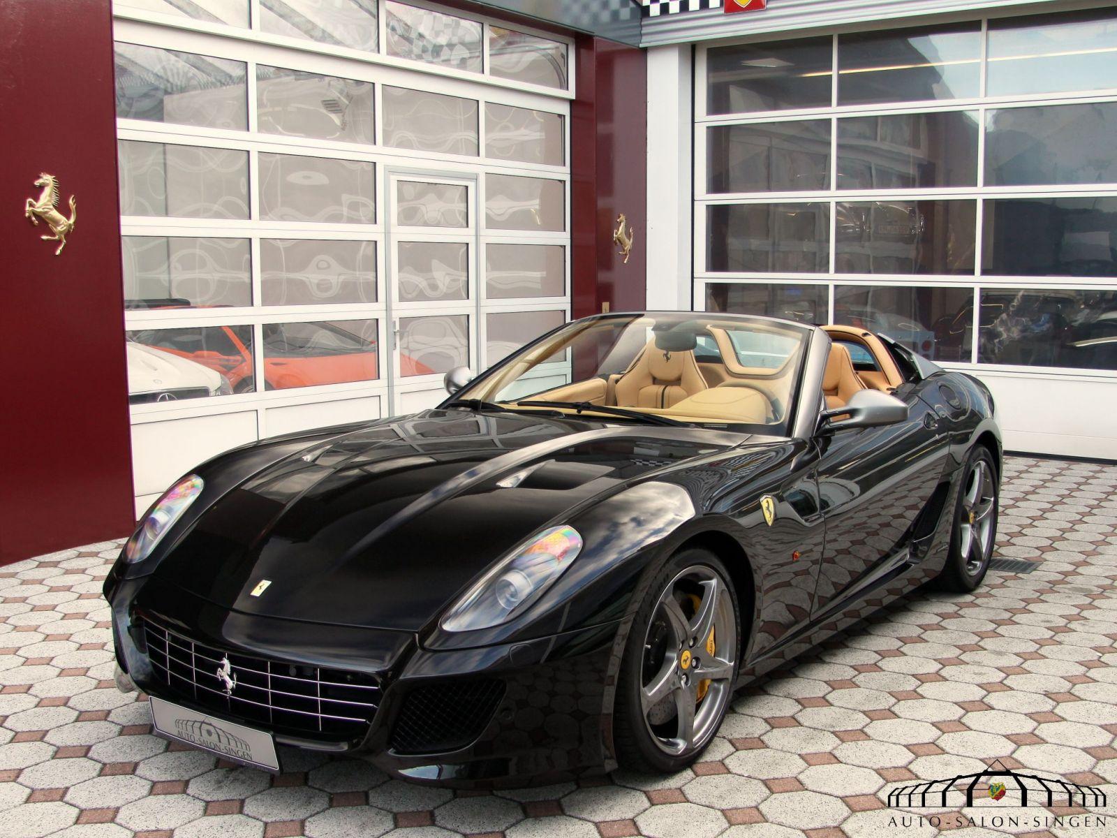 Ferrari 599 Sa Aperta Convertible Auto Salon Singen