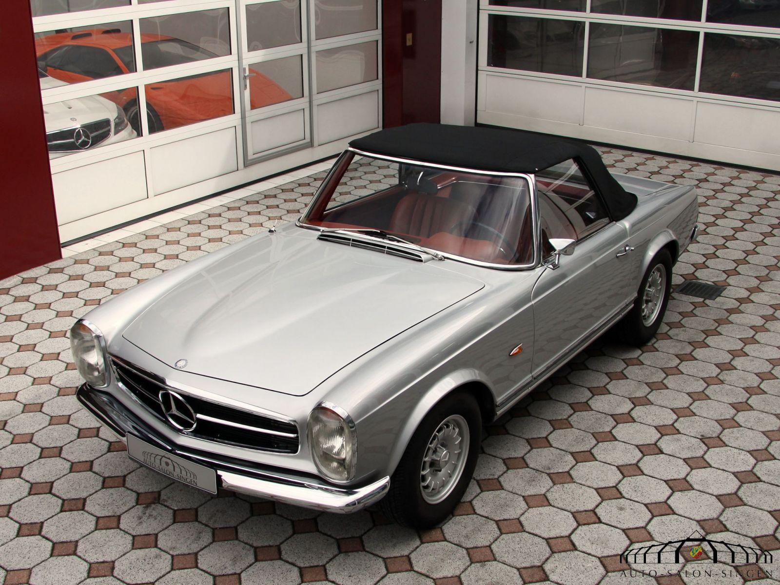 Mercedes benz 280 sl pagode cabrio auto salon singen for Mercedes benz 280