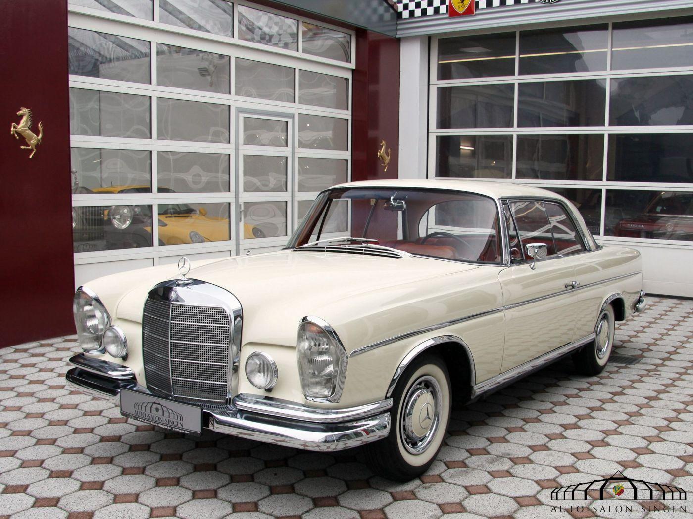 Mercedes benz 220 se b coup auto salon singen for Mercedes salon