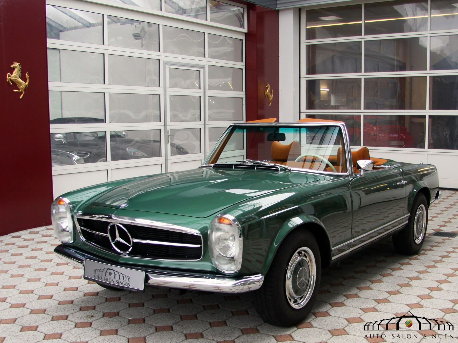 mercedes benz 280 sl pagode cabrio auto salon singen. Cars Review. Best American Auto & Cars Review