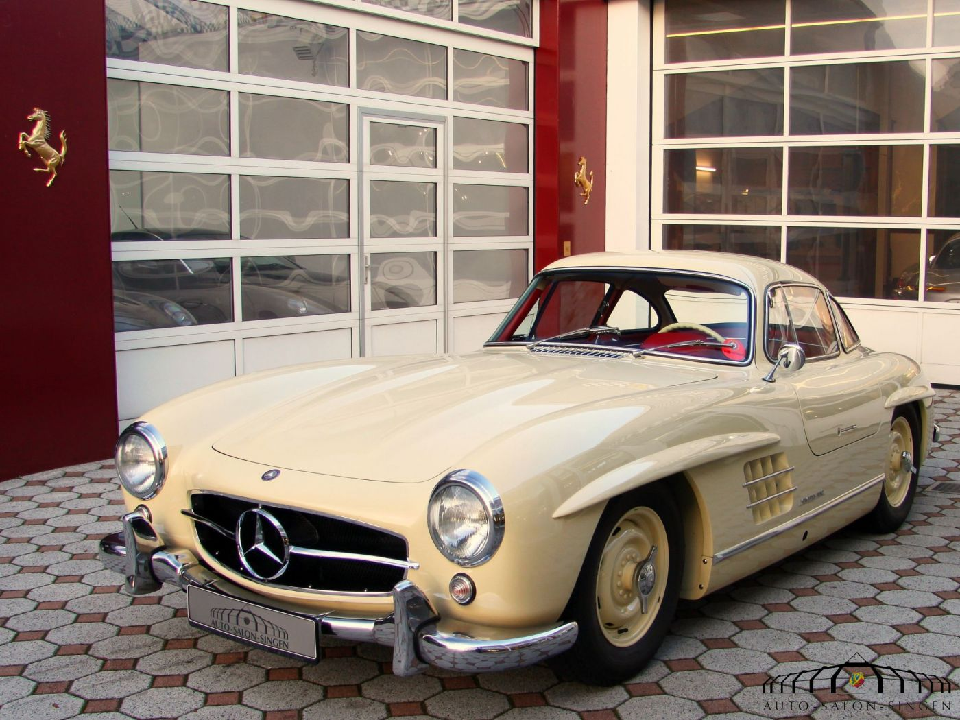 mercedes benz 300 sl gullwing coup auto salon singen. Black Bedroom Furniture Sets. Home Design Ideas