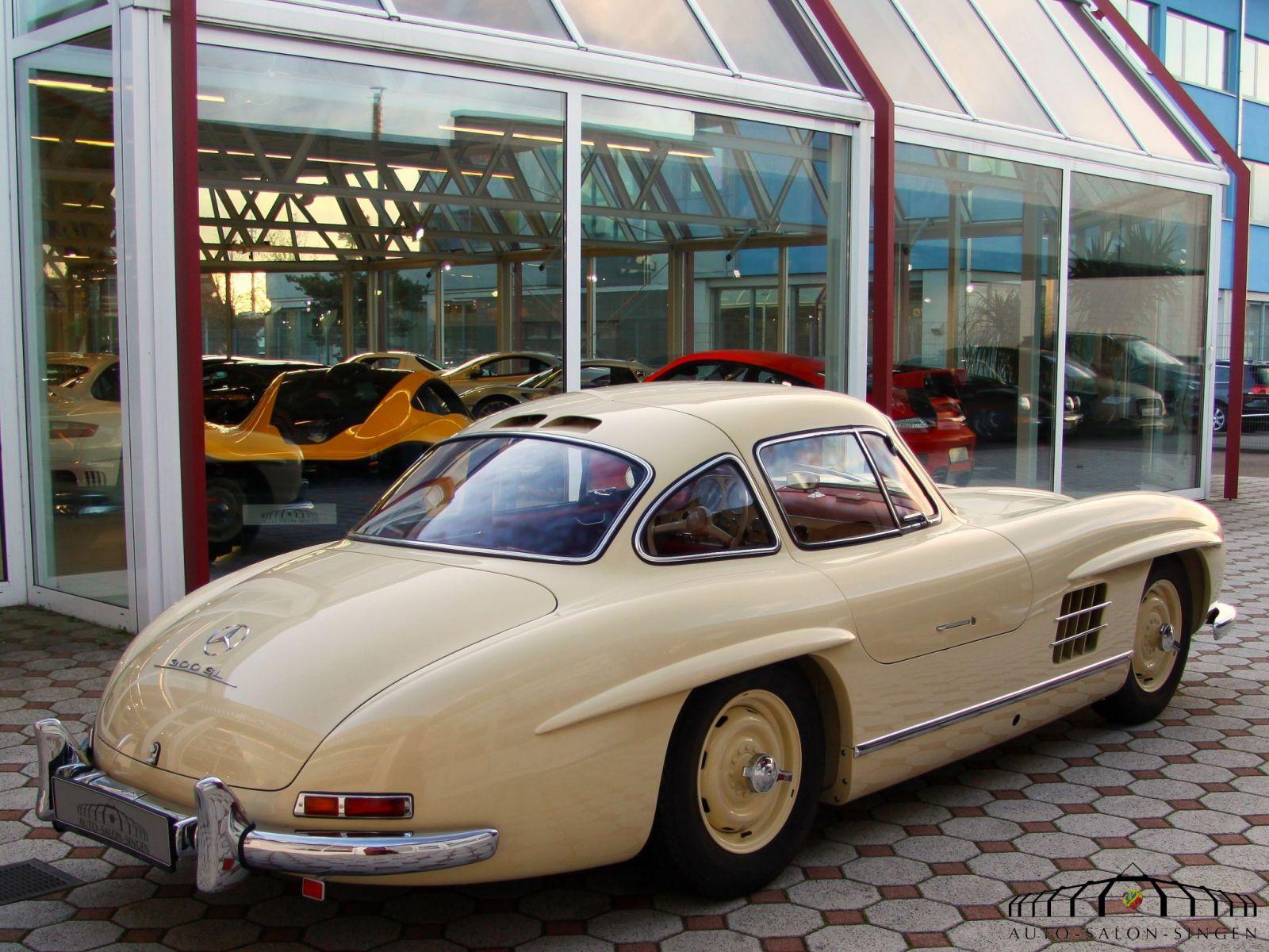 Mercedes benz 300 sl gullwing coup auto salon singen for Mercedes salon