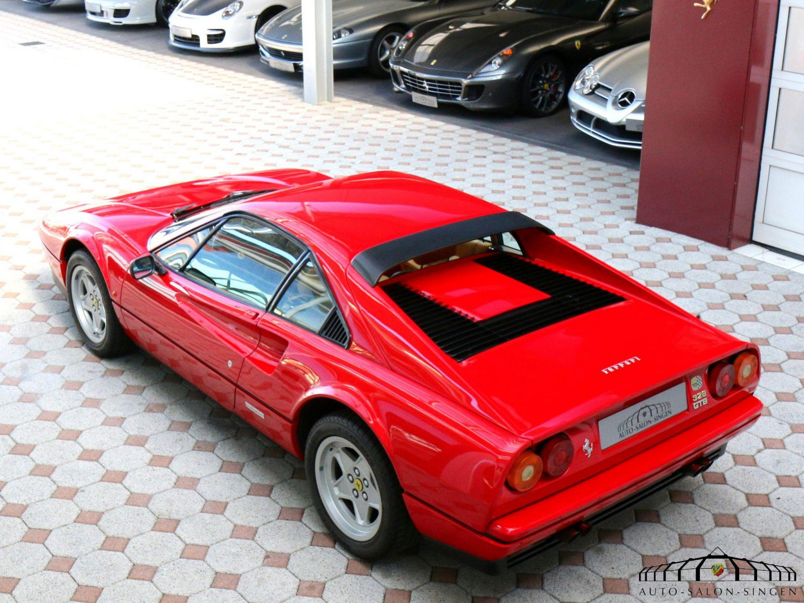 Ferrari 328 Gtb Coupé Auto Salon Singen