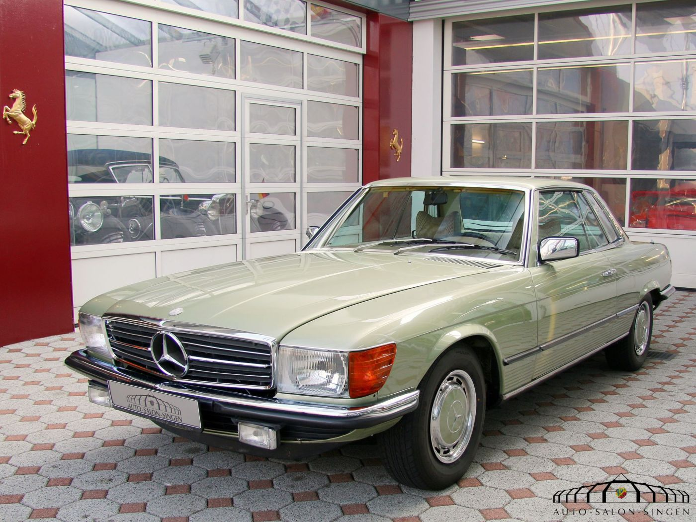 Mercedes benz 450 slc coup auto salon singen for Autos mercedes benz