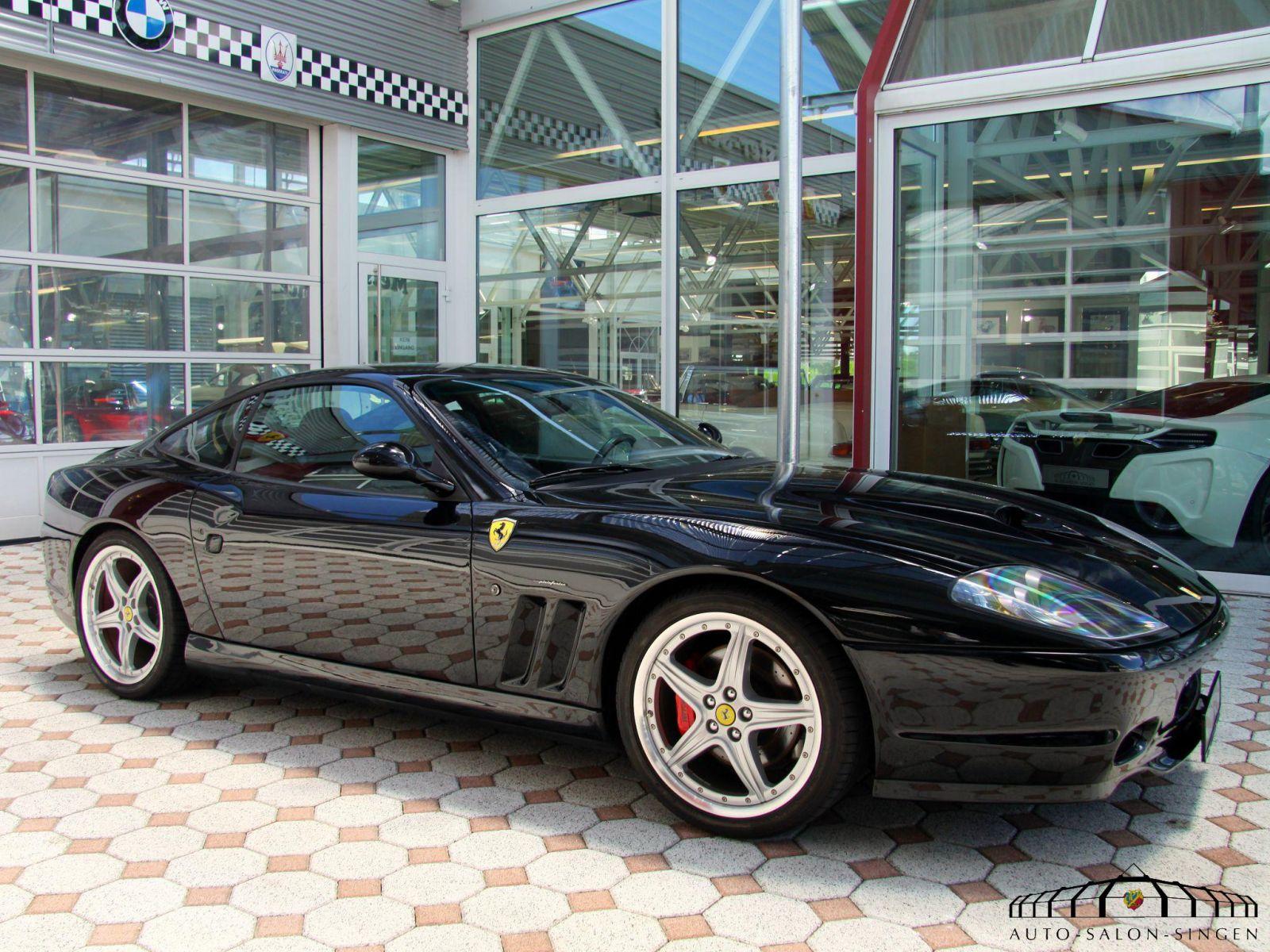 Ferrari 575 M Maranello Coupé Auto Salon Singen