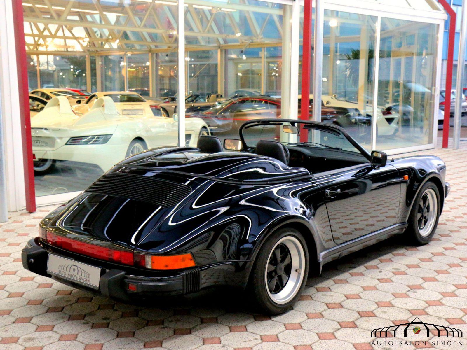 porsche 911 speedster 3 2 cabrio auto salon singen. Black Bedroom Furniture Sets. Home Design Ideas