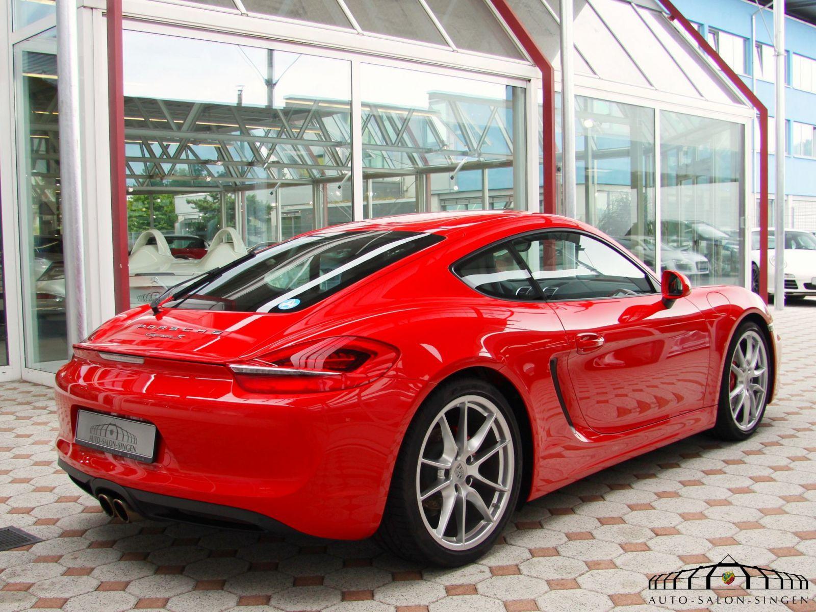 Porsche Cayman S 981 Coupé Auto Salon Singen