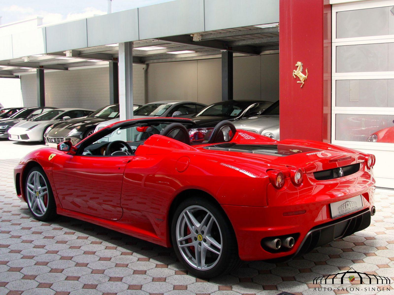 Ferrari F430 Spider Cabrio Auto Salon Singen