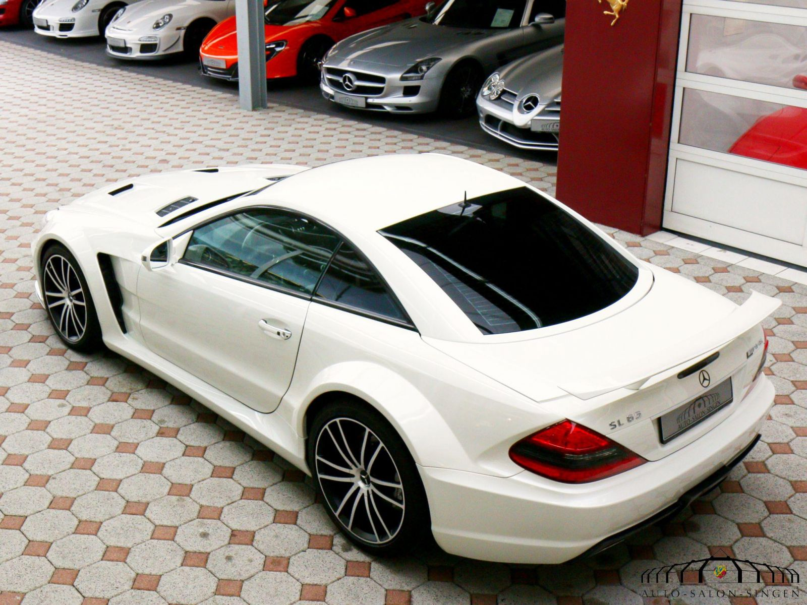Mercedes benz sl 65 amg black series