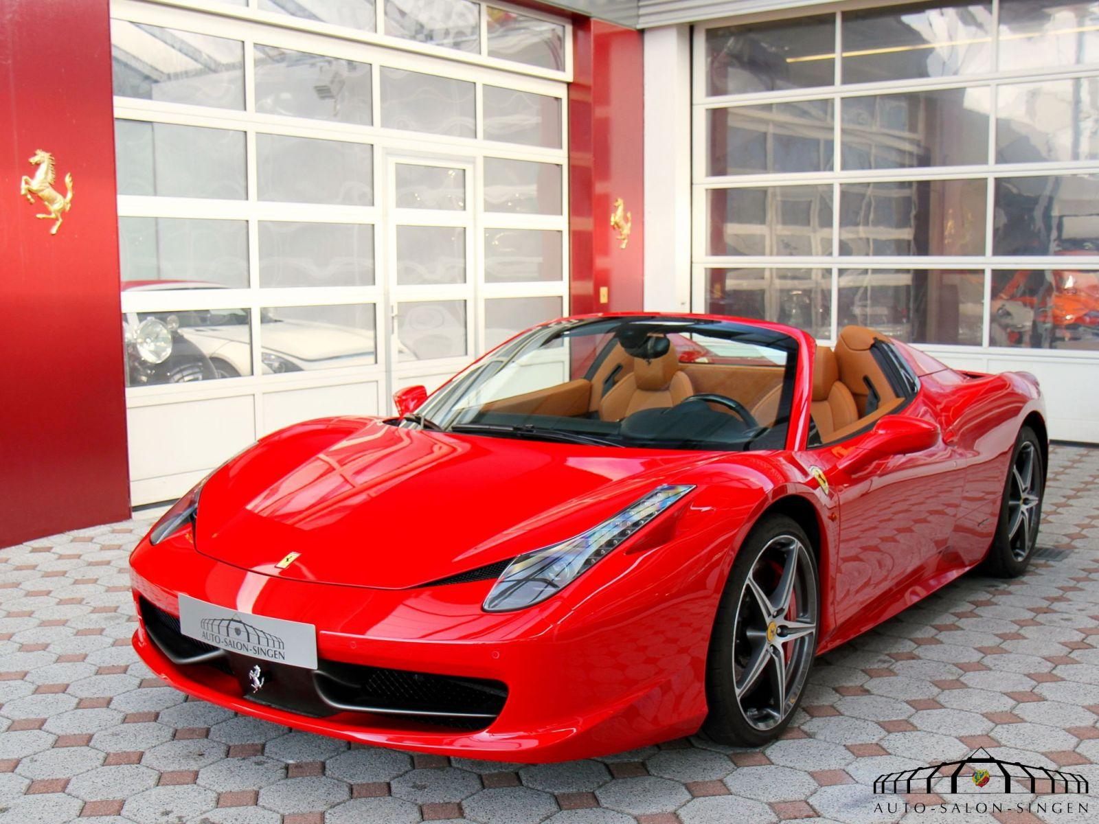 Ferrari 458 Spider Convertible Auto Salon Singen
