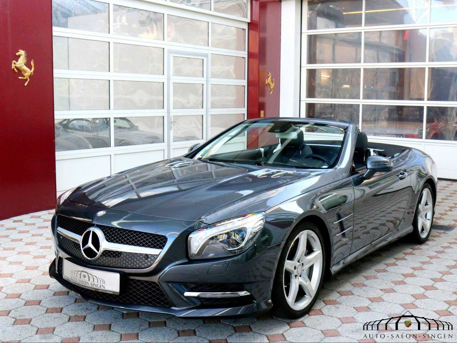 mercedes benz sl 500 convertible auto salon singen. Black Bedroom Furniture Sets. Home Design Ideas