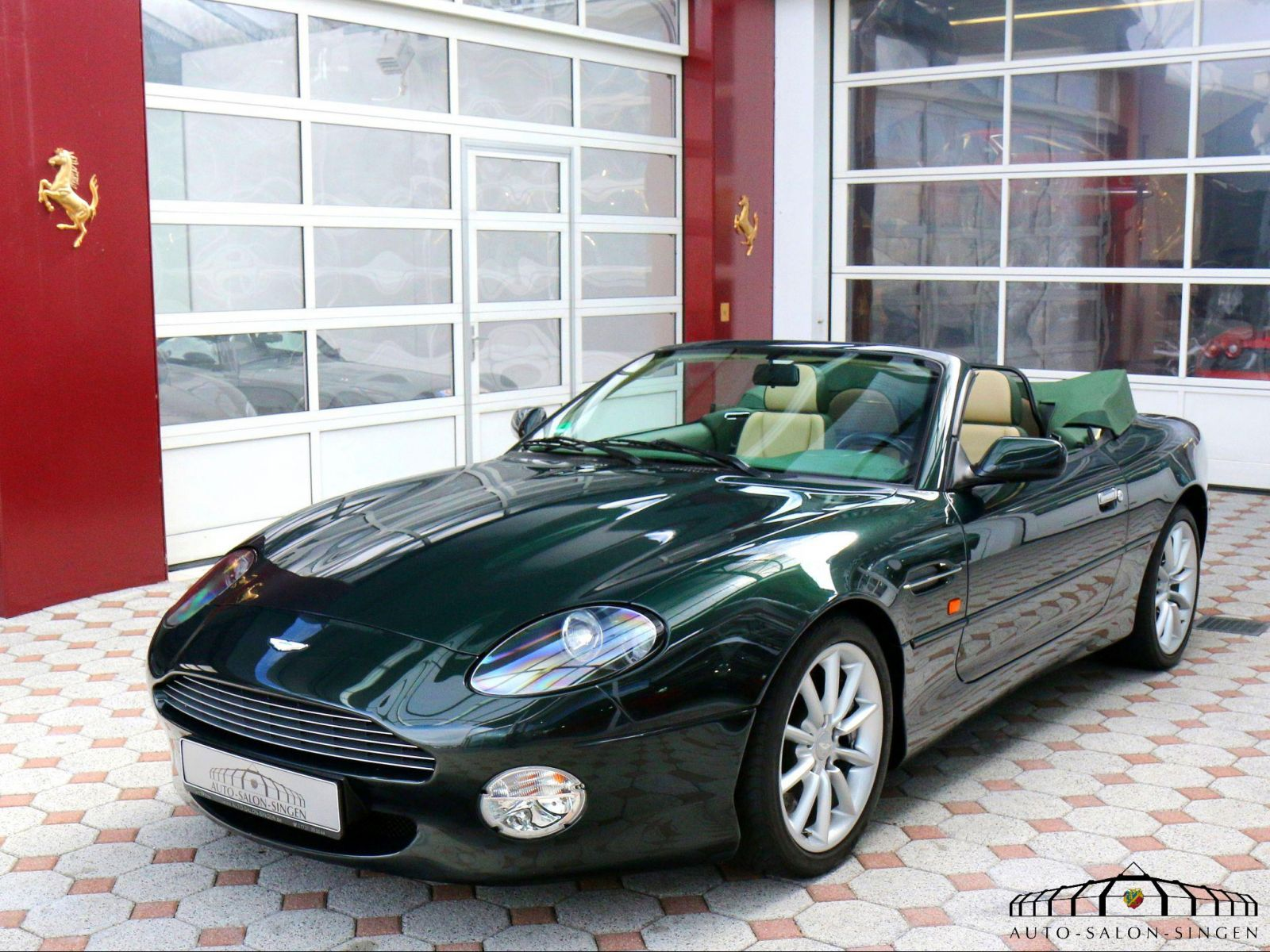 Aston Martin Db7 Vantage Volante Cabrio Auto Salon Singen