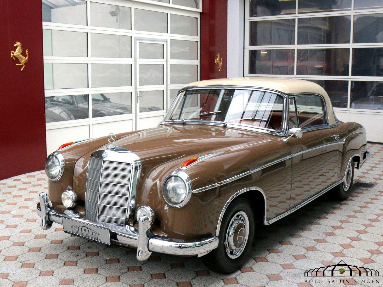 Mercedes benz 220 s ponton coupe coup auto salon singen for Mercedes benz ponton