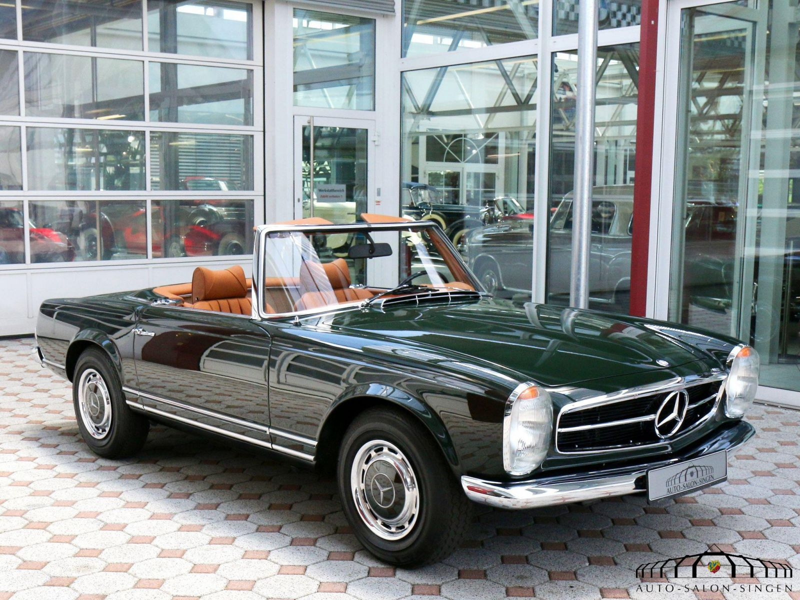 mercedes benz 280 sl pagode cabrio auto salon singen. Black Bedroom Furniture Sets. Home Design Ideas