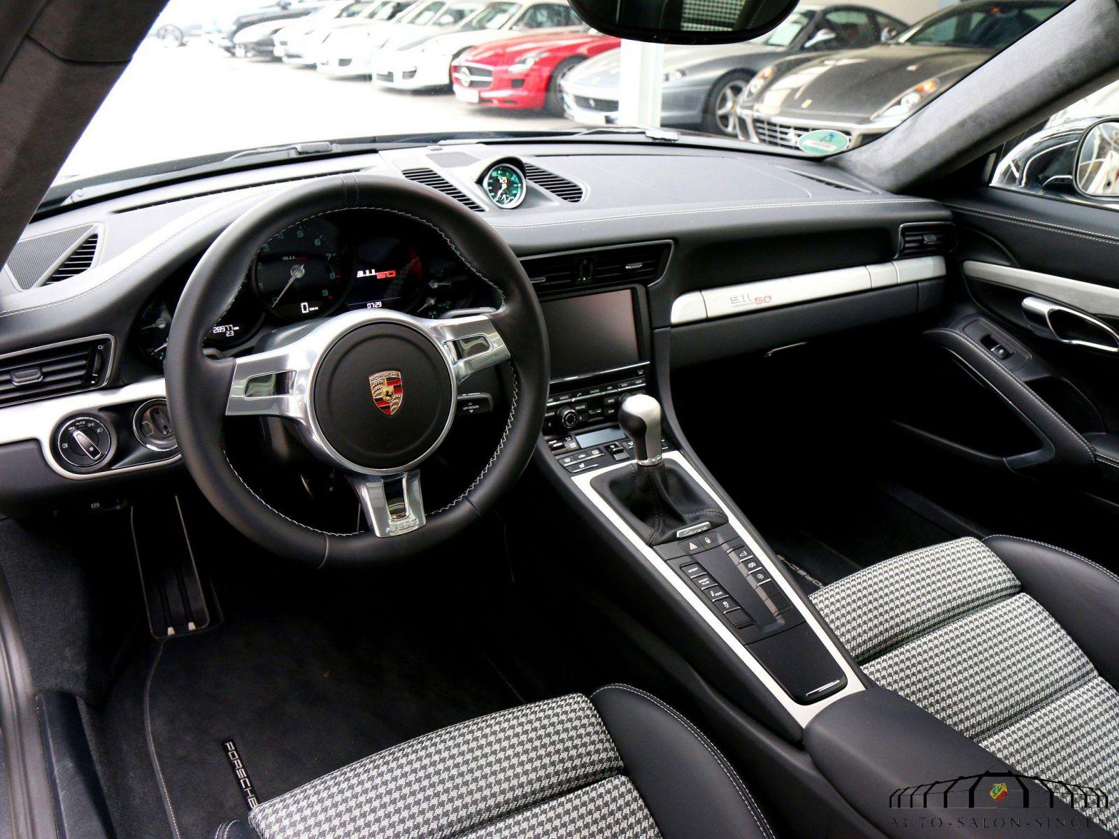 Porsche 991 50 jahre jubil umsmodell coup auto salon singen for Interieur 997