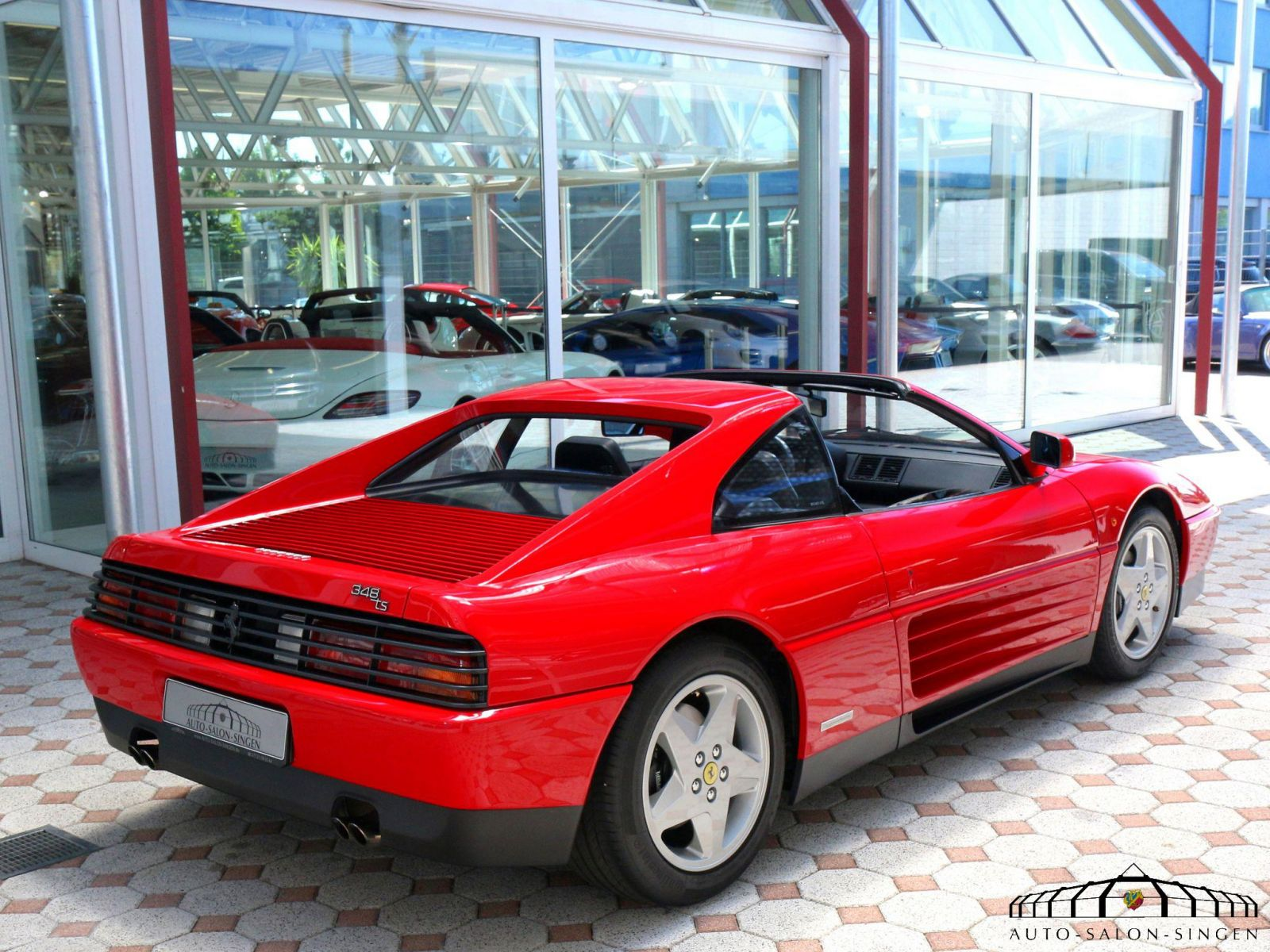 ferrari 348 ts coup auto salon singen. Black Bedroom Furniture Sets. Home Design Ideas