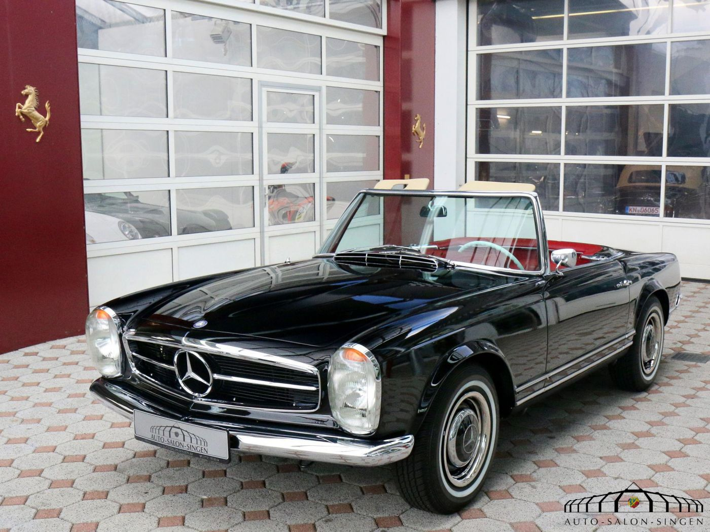 Mercedes benz 230 sl pagode convertible auto salon singen for Pay mercedes benz online
