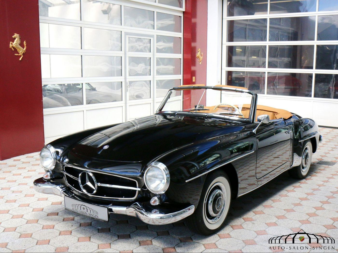mercedes benz 190 sl convertible auto salon singen. Black Bedroom Furniture Sets. Home Design Ideas