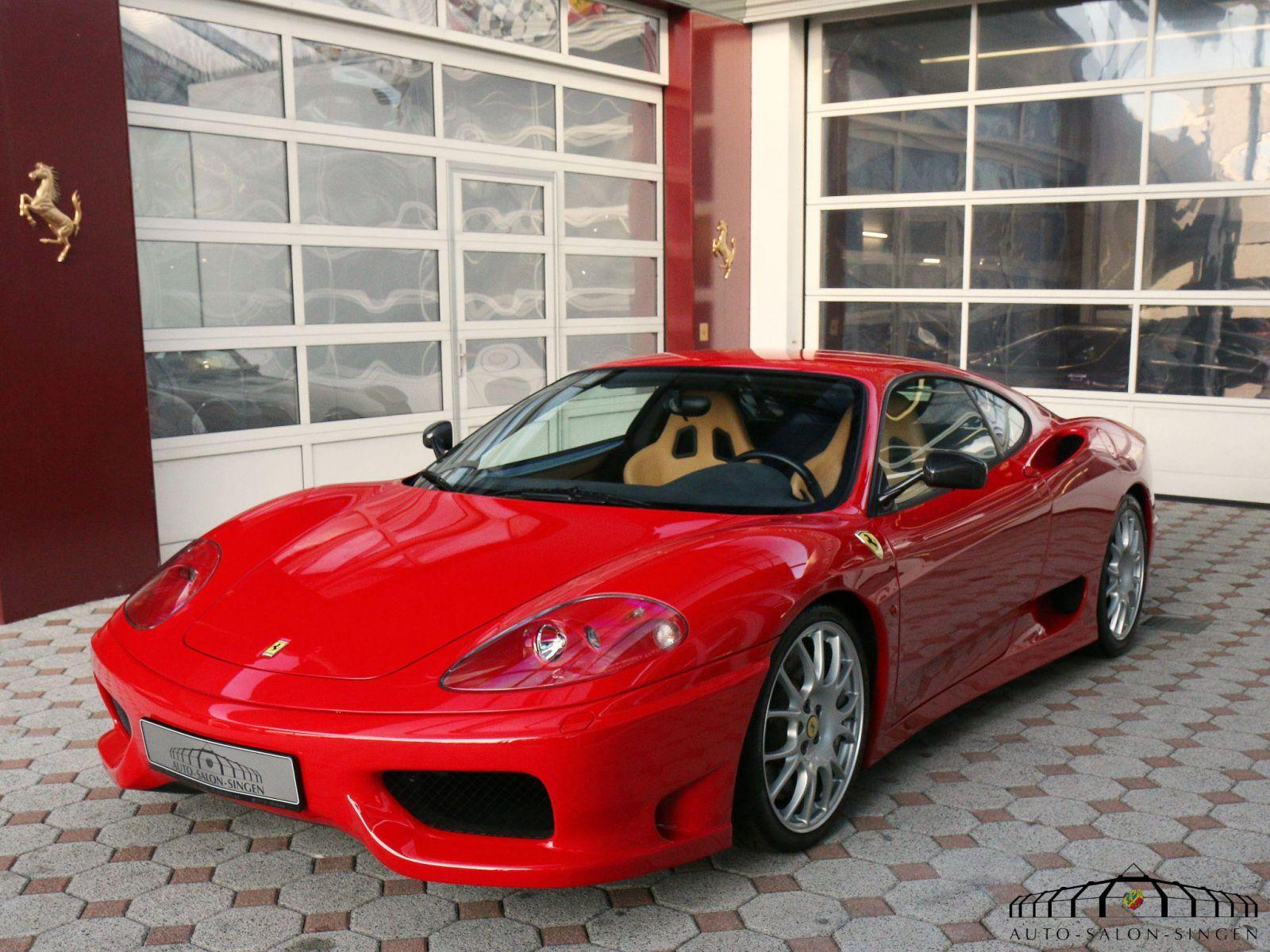 Ferrari 360 Challenge Stradale Coupé Auto Salon Singen