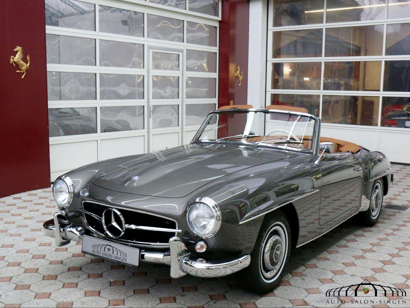Mercedes benz 190 sl cabrio auto salon singen for Mercedes salon