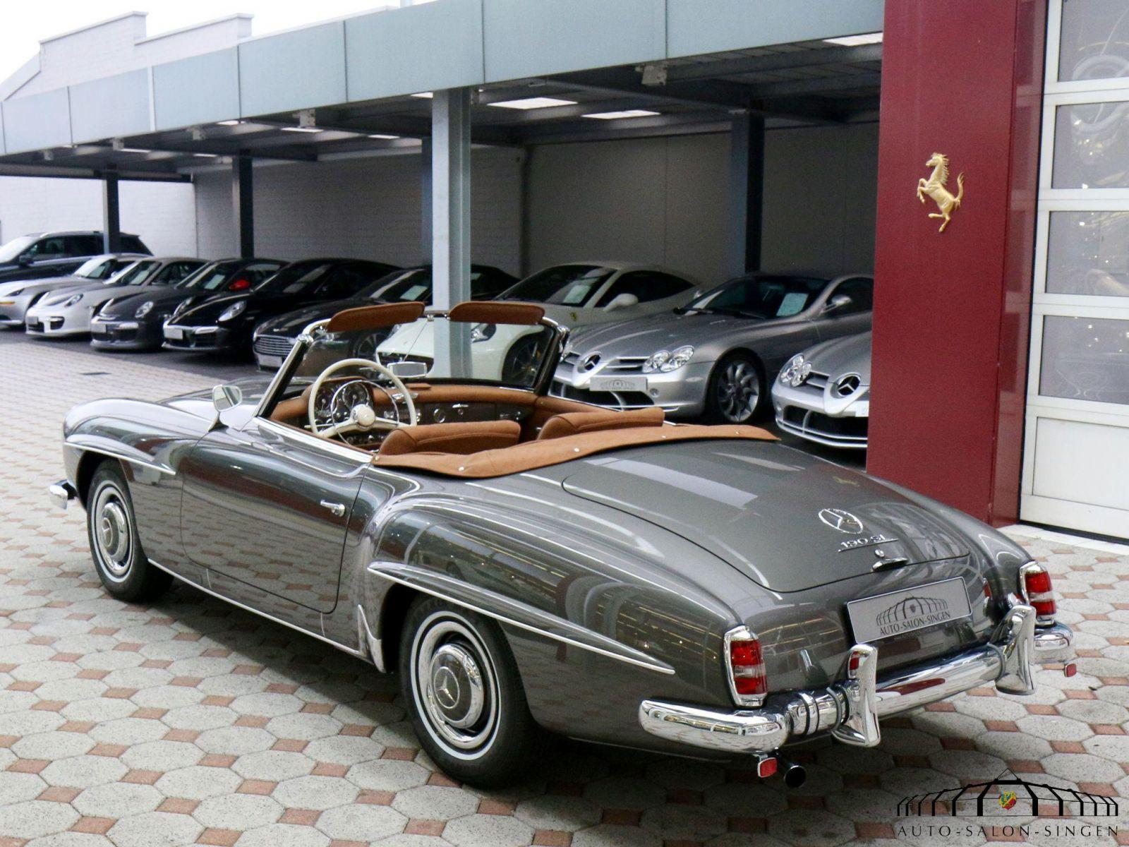 Mercedes benz 190 sl convertible auto salon singen for Mercedes benz sl 190