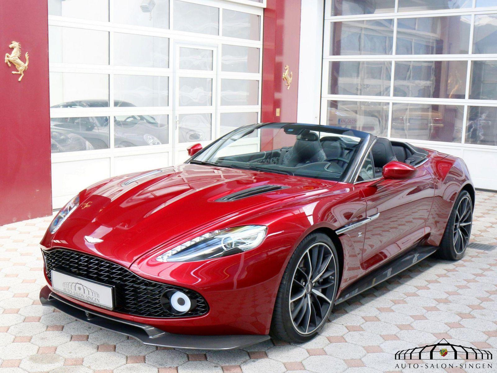 Aston Martin Vanquish Zagato Volante Station Wagon Auto Salon Singen