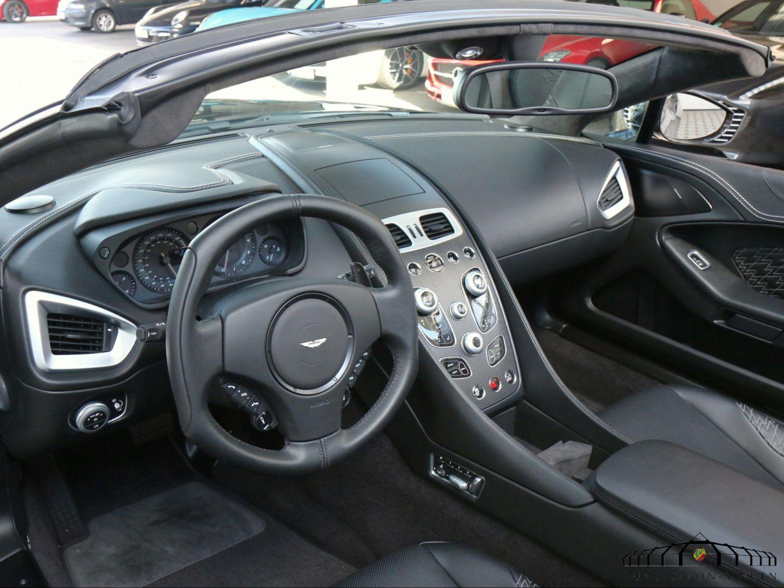 Aston Martin Vanquish Zagato Volante Convertible Auto Salon Singen