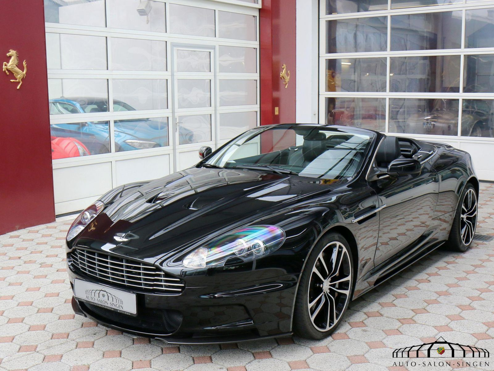 Aston Martin Dbs Volante Cabrio Auto Salon Singen