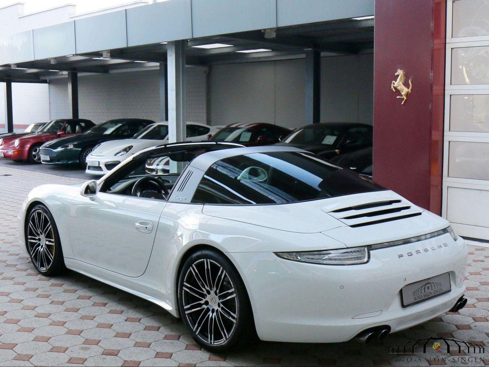 Porsche 991 Targa 4s Convertible Auto Salon Singen